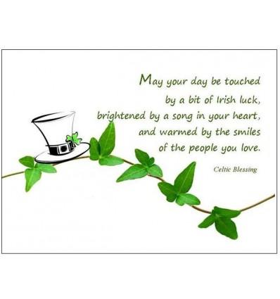 Celtic Blessing - blank Card