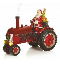 Christmas Tractor with Smoke Effect