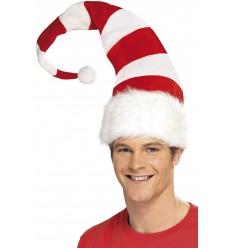 Stripey Santa Hat