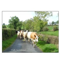 Traffic jam in Ireland