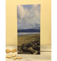 Irish Beach - blank card
