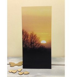 Irish Sunset - blank card