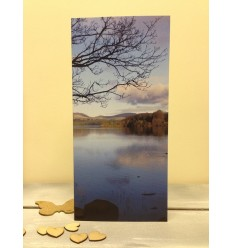 Irish Lake in Autumn - blank card