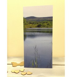 Irish Lake - blank card