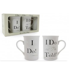 I Do Set of 2 Mugs