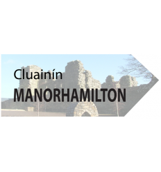 Manorhamilton Wooden Fridge Magnet