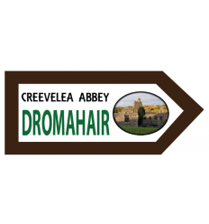 Dromahair Wooden Fridge Magnet