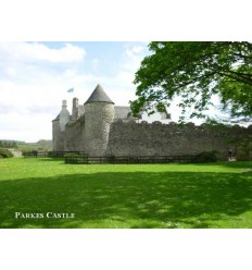 Parkes Castle - blank card