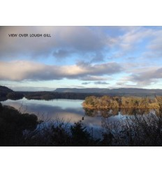 View Over Lough Gill - blank card