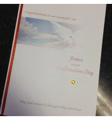 CONFIRMATION Personalised Card 2
