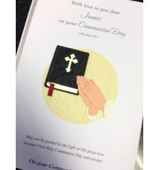 First Communion Personalised Card 2