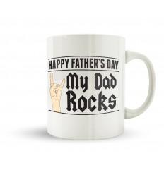 Dad Rocks Mug