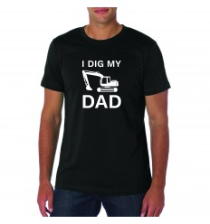 I Dig My Dad T-Shirt