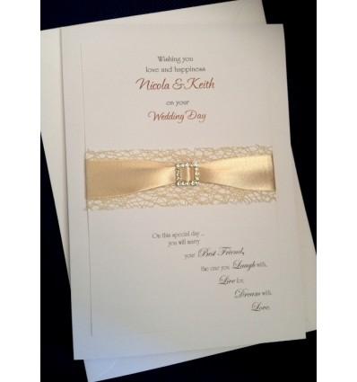 Wedding Personalised Card - 6