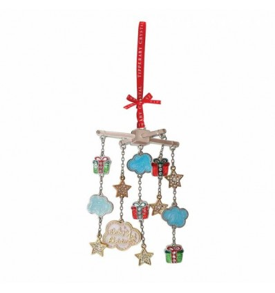new babys 1st christmas mobile decoration