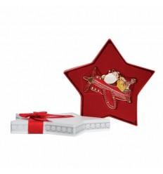 Santa in Plane Decoration