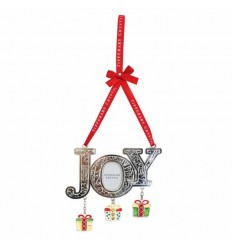 Joy with Hanging Gifts Decoration