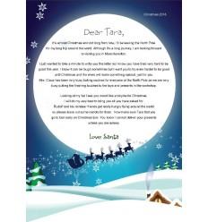 Santa Letter Envelope
