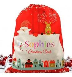 Fairy Girl Personalised Christmas Sack