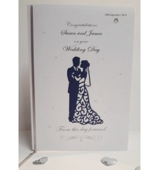 Wedding Personlaised Card - 1