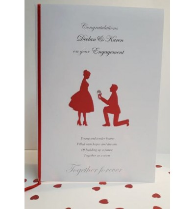 Engagement Personalised Card - 2