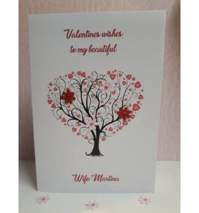 Valentine's Day Personalised Card - 2