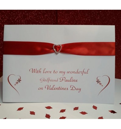 Valentine's Day Personalised Card - 3