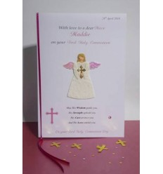 First Communion Personalised Card 1
