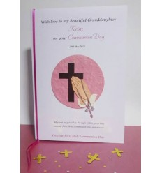 First Communion Personalised Card 3