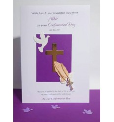 CONFIRMATION Personalised Card 1