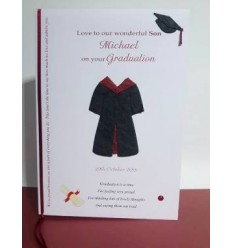 Graduation Personalised Card