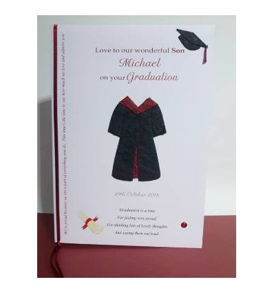 Graduation Personalised Card