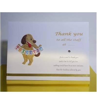 Thank You Personalised Card - 1
