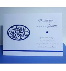 Thank You Personalised Card - 3