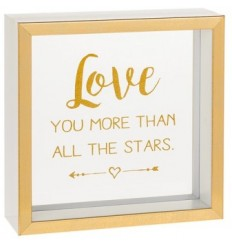Love you more than all the stars