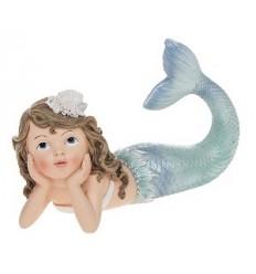 Mermaid lying down