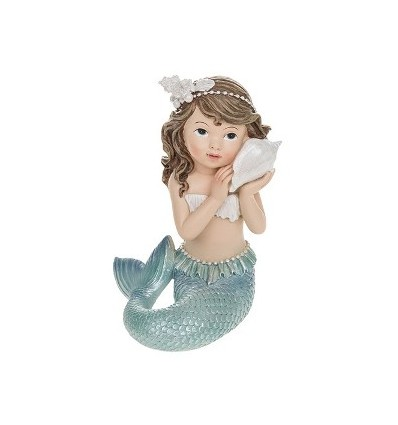 Mermaid with pillow