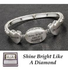 Bracelet' Shine Bright Like a Diamond'