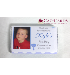 60 First Communion -  Photo Chocolate Bars