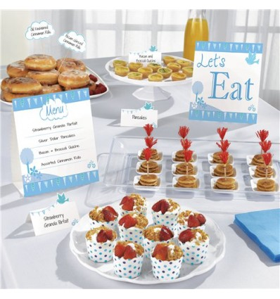 1st Communion Buffet Kit Blue