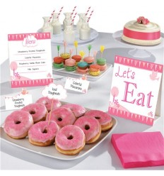 1st Communion Buffet Kit Pink