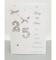 Anniversary Personalised Card - 2