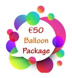 €50 Balloon Package