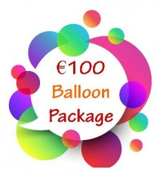 €100 Balloon Package