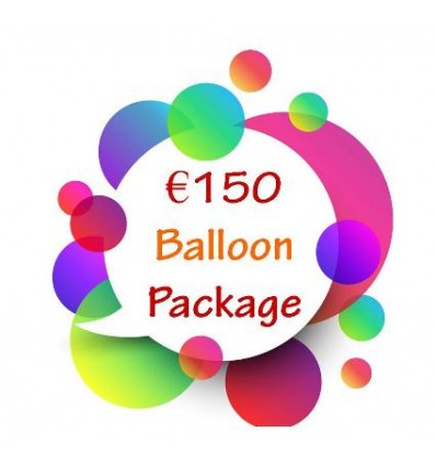 €150 Balloon Package