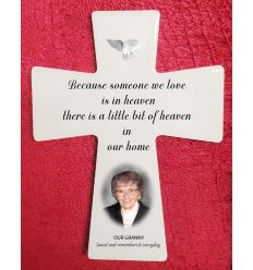 Ceramic Personalised Cross