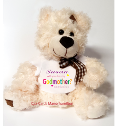 Godmother Teddy Bear from a Girl