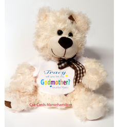 Godmother Teddy Bear from a boy