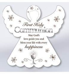 First Communion Angel Plaque