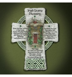 Large Resin Celtic Cross Plaque